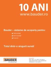 BAUDER - 10 ani de succes in Romania