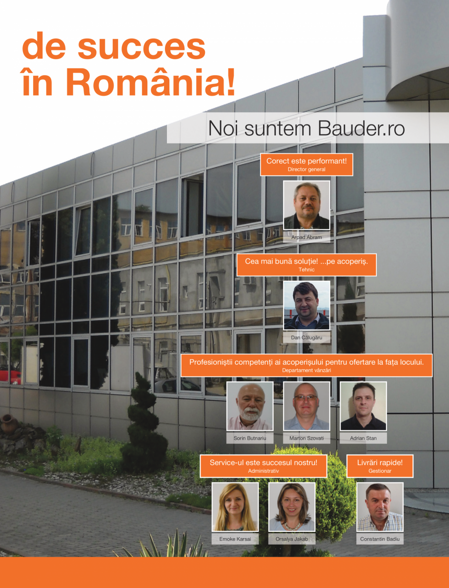 Pagina 2 - BAUDER - 10 ani de succes in Romania  Catalog, brosura Romana