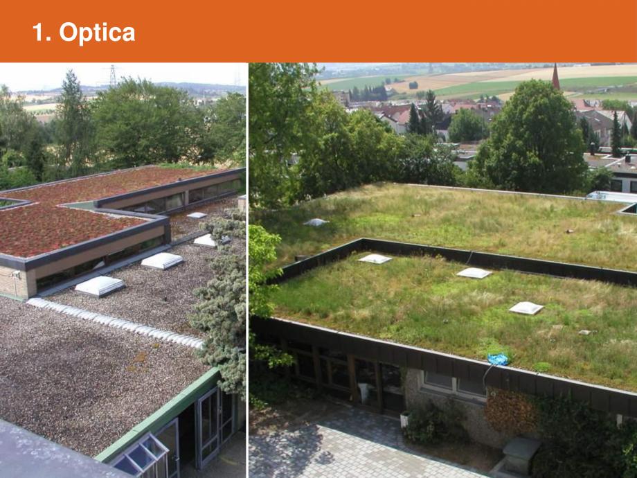 Catalog, brosura Argumente pentru un acoperis verde BAUDER Acoperis cu vegetatie extensiva, intensiva BAUDER a acoperișului – valoare imobiliară  6. Utilizarea acoperișului – valoare imobiliară   - Pagina 3