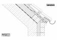 Bauder - Acoperis ceramic - Detaliu structuri acoperis (sarpanta) 3-1-00-19-06 BAUDER