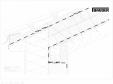 Bauder - Acoperis ceramic - Detaliu streasina STICHWDV07 BAUDER