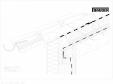 Bauder - Acoperis ceramic - Detaliu streasina STICHWDV06 BAUDER