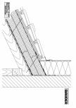 Bauder - Acoperis ceramic - Detaliu racord perete WANDAASW01 BAUDER