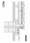 Bauder - Acoperis ceramic - Detaliu perete despartitor HTWPLUGK04 BAUDER
