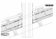 Bauder - Acoperis ceramic - Detaliu cos fum KAMINTPK01 BAUDER