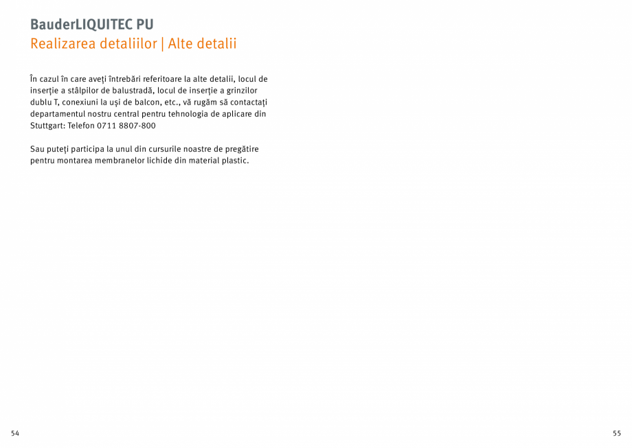 Pagina 28 - Membrana lichida din material plastic BAUDER LIQUITEC Reiniger, LIQUITEC Primer Material...