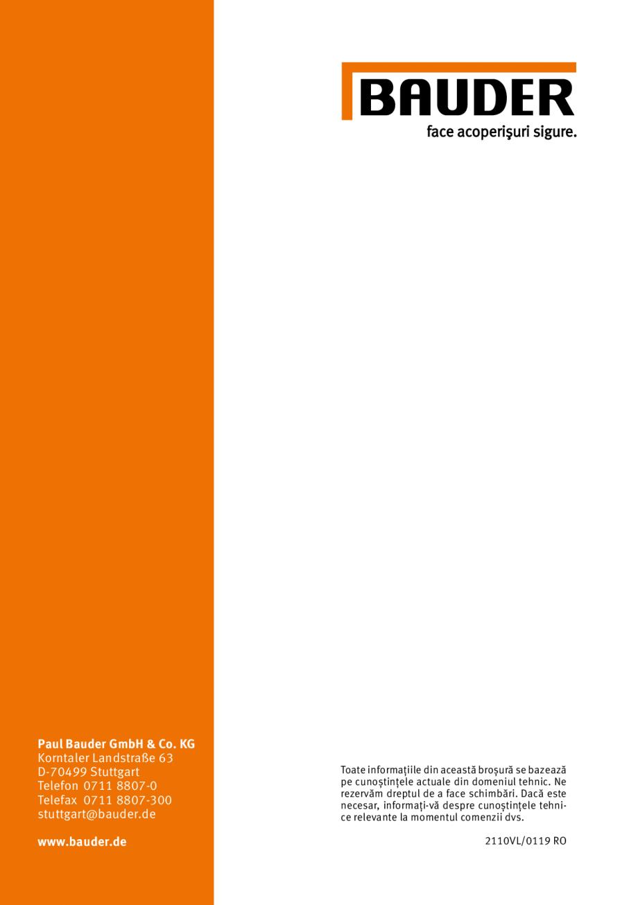 Pagina 31 - Membrana lichida din material plastic BAUDER LIQUITEC Reiniger, LIQUITEC Primer Material...