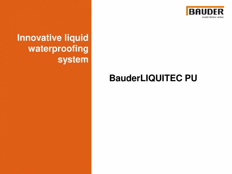 Pagina 1 - Sistem de hidroizolatie cu membrana lichida din material plastic - Prezentare generala...