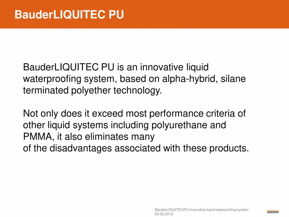 Pagina 3 - Sistem de hidroizolatie cu membrana lichida din material plastic - Prezentare generala...
