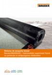 Sisteme de acoperis terasa - Hidroizolatie superioara Karat cu protectie la strapungerea radacinilor BAUDER - SMARAGD