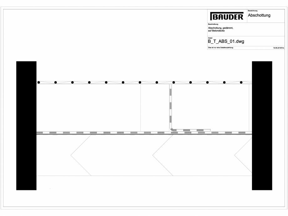 Pagina 1 - CAD-DXF Bauder - Detaliu izolatie - B_T_ABS_01 BAUDER Detaliu de montaj