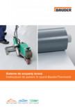Sisteme de acoperis terasa - Instructiuni de punere in opera BAUDER - THERMOFOL