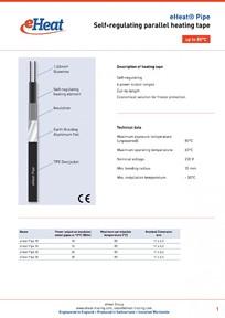 Cablul de incalzire autoreglabil eHeat