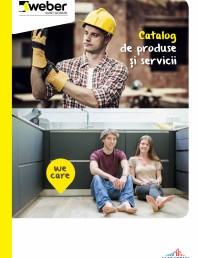 Catalog de produse si servicii  Saint- Gobain Weber 2020
