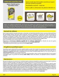 Adeziv flexibil pentru placari ceramice pe suprafete critice