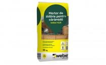 Mortare pentru zidarie din caramida Mortarul Weber se utilizeaza la realizarea zidariilor din caramida si din boltari de beton sau beton usor. Pentru pereti portanti, de inchidere si de compartimentare.