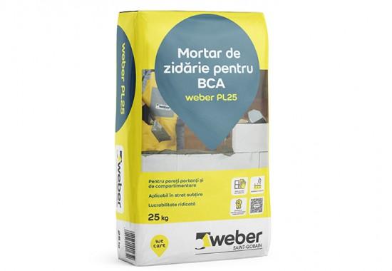 Mortar de zidarie pentru blocuri de BCA WEBER