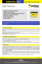 Hidroizolatie sub placari ceramice WEBER