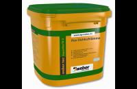 Hidroizolatii pentru interior si exterior Hidroizolatiile sub placarile ceramice Weber sunt produse bicomponente sau monocomponente, flexibile, ce asigura o etansare completa impotriva actiunii apei.