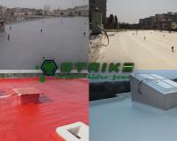 Hidroizolatii cu membrane poliuretanice si poliureice STRIKE CONSexecuta lucrari de copertari poliureice pentruacoperisuri traditionale terase circulabile