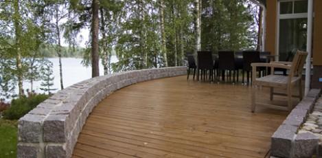 Terasa de exterior din lemn Thermowood WELDE - Poza 8