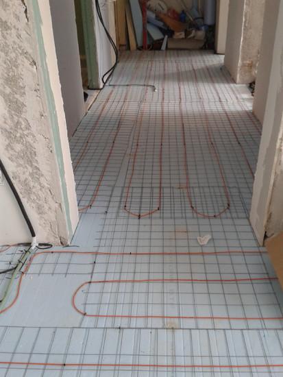 Incalzire in pardoseala apartament - bloc / Cablu incalzire pardoseala