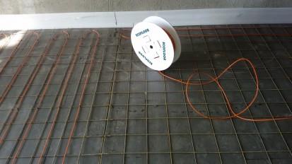 Incalzire in pardoseala - vila / Cablu incalzitor sapa