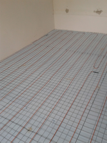 Incalzire in pardoseala apartament - bloc / Incalzire in pardoseala dormitor