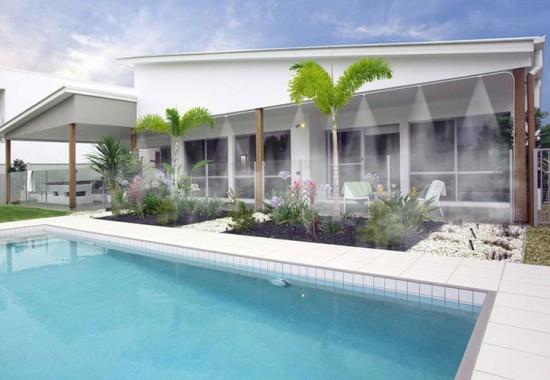 Instalatii de racire si climatizare prin pulverizare de apa pentru terase, spatii rezidentiale CIPEC