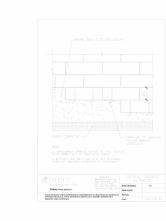 Cofraje termoizolante inglobate - Fundatie in trepte MARC