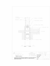 Cofraje termoizolante inglobate - Fundatie cu pereti din lemn MARC