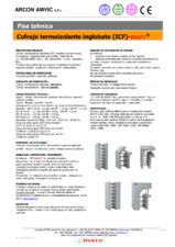 Cofraje termoizolante inglobate (ICF) MARC