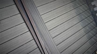Amenajari tip decking din material compozit WPC Amenajari tip decking din material compozit WPC