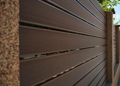 Gard din material compozit WPC din WPC Garduri din material compozit WPC