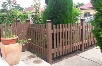 Garduri din lemn compozit WPC - Wood Polymer Composite