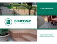 Mobilier urban si de gradina din lemn compozit WPC BENCOMP