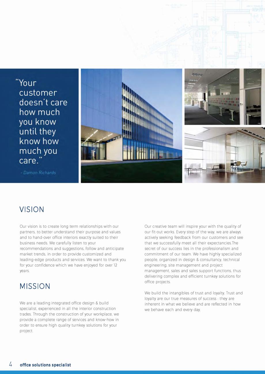 Pagina 4 - EKKO Capability Statement  Catalog, brosura Engleza agement and project management. sales...