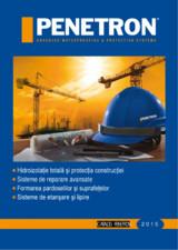 Sistemul PENETRON pentru impemeabilizarea betonului PENETRON