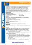 Mortar cimentos de impermeabilizare pentru beton PENETRON - PENETRON PLUS