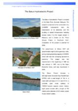 Proiectul hidroelectric Bakun PENETRON