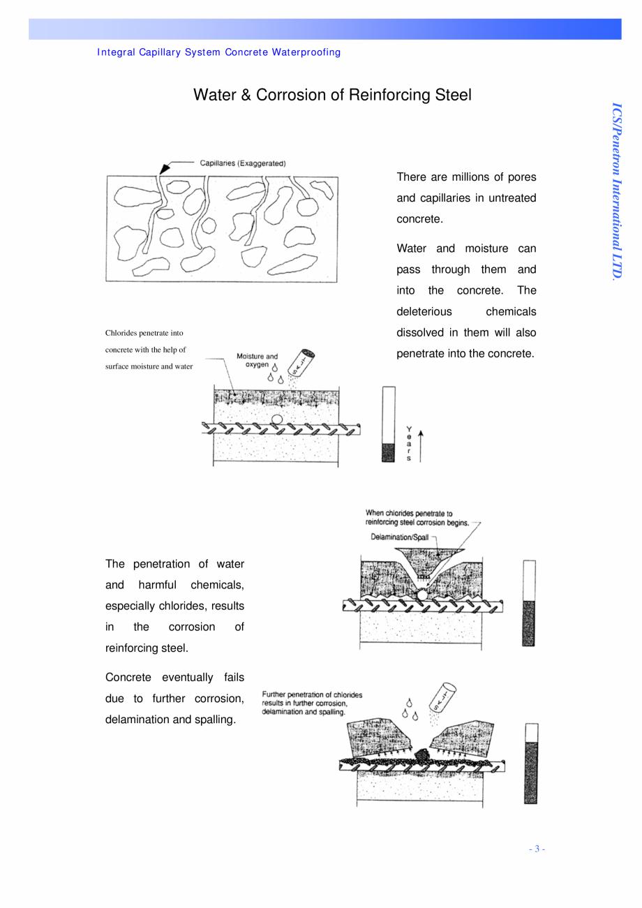 Pagina 3 - Proiectul hidroelectric Bakun PENETRON PENETRON, PENETRON ADMIX, PENETRON PLUS Lucrari,...