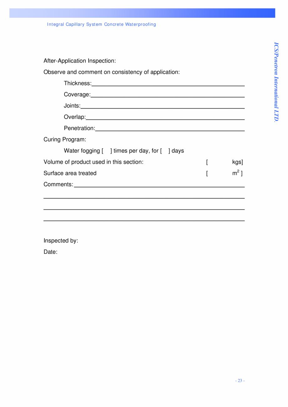 Pagina 23 - Proiectul hidroelectric Bakun PENETRON PENETRON, PENETRON ADMIX, PENETRON PLUS Lucrari, ...