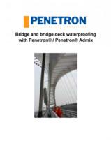 Impermeabilizarea podurilor si a puntilor de pod PENETRON