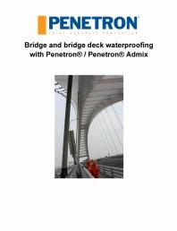 Impermeabilizarea podurilor si a puntilor de pod