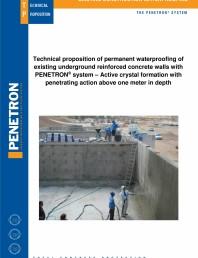 Impermeabilizarea peretilor subterani din beton armat