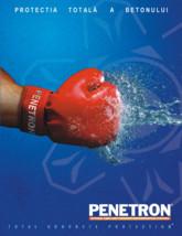 Protectia totala a betonului PENETRON