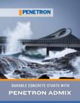 Rezistenta betonului incepe cu Penetron PENETRON - PENETRON ADMIX