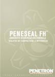 Tratament permanent pentru pardoseli / Hidroizolatii si impermeabilizare pentru structuri din beton / PENETRON ROMANIA