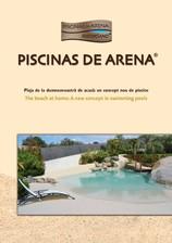 Piscina rezidentiala cu finisaj special, aspect de nisip Piscinas de Arena