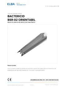 Lampa bactericida ELBA